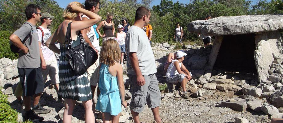 Vacances en Ardèche !!! - Découverte des dolmens