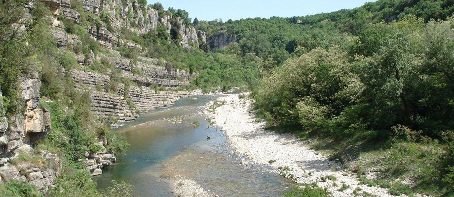 Vacances en Ardèche !!! - La rivière de Labeaume